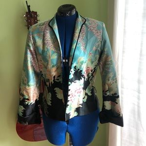 JS Collection silk jacket